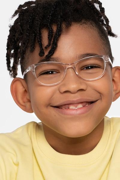 Thinker Clear Acetate Eyeglass Frames for Men from EyeBuyDirect