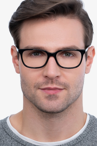 Peruse Black Acetate Eyeglass Frames for Men from EyeBuyDirect