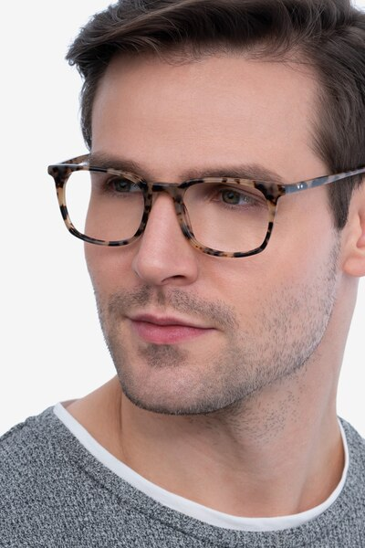 Gabor Tortoise Acetate Eyeglass Frames for Men from EyeBuyDirect