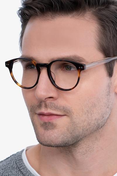 Manara Tortoise Acetate Eyeglass Frames for Men from EyeBuyDirect