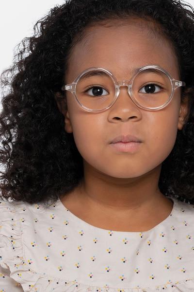 Little Years Transparent Plastique Montures de Lunettes pour Femmes d'EyeBuyDirect, Vue de Face