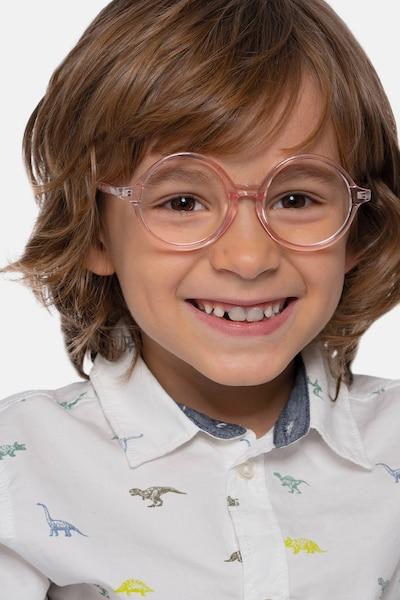 Little Years Pink Plastic Eyeglass Frames for Men from EyeBuyDirect