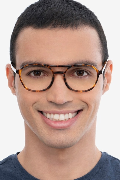 Higher Tortoise Acetate Eyeglass Frames for Men from EyeBuyDirect