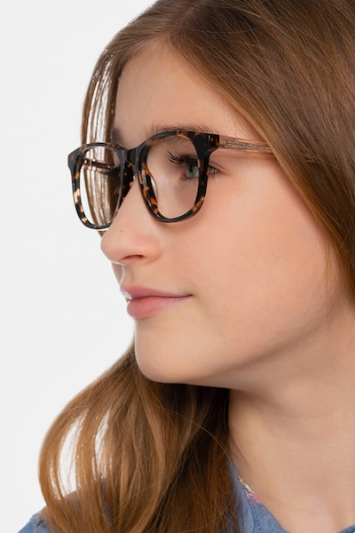 Steps Tortoise Acetate Eyeglass Frames for Women from EyeBuyDirect