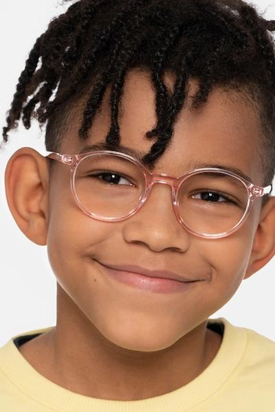 Excel Pink Acetate Eyeglass Frames for Men from EyeBuyDirect