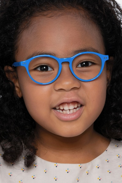Magic Blue Acetate Eyeglass Frames for Women from EyeBuyDirect