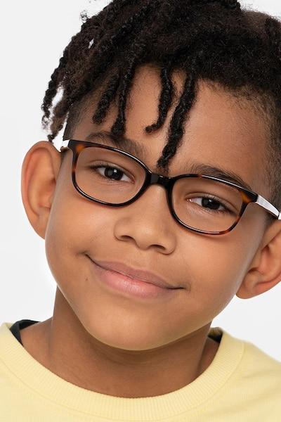 Leap Tortoise Acetate Eyeglass Frames for Men from EyeBuyDirect