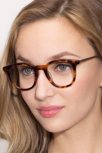 Vendome Ecaille Acétate Montures de Lunettes pour Femmes d'EyeBuyDirect