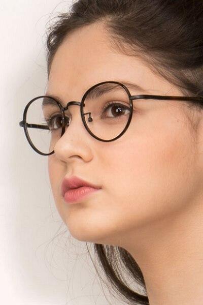 Anywhere Dark Tortoise Acetate Eyeglass Frames for Women from EyeBuyDirect