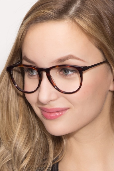 Ultraviolet Tortoise Acetate Eyeglass Frames for Women from EyeBuyDirect
