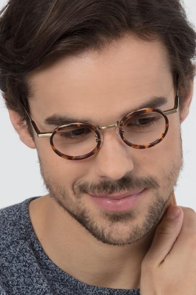 Maybe You Tortoise Acetate Eyeglass Frames for Men from EyeBuyDirect