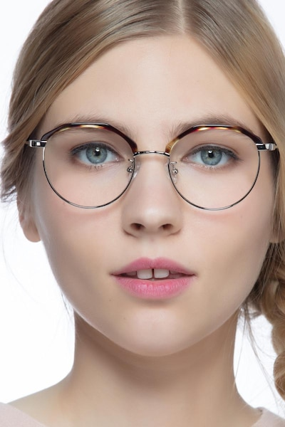 Festival Tortoise Acetate Eyeglass Frames for Women from EyeBuyDirect