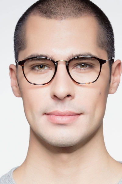 Crave Tortoise Metal Eyeglass Frames for Men from EyeBuyDirect