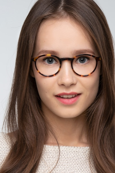 Anomaly Tortoise Acetate Eyeglass Frames for Women from EyeBuyDirect