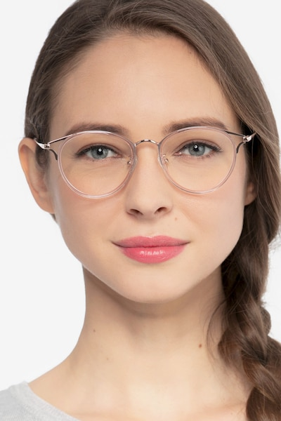 Dazzle Pink Acetate Eyeglass Frames for Women from EyeBuyDirect