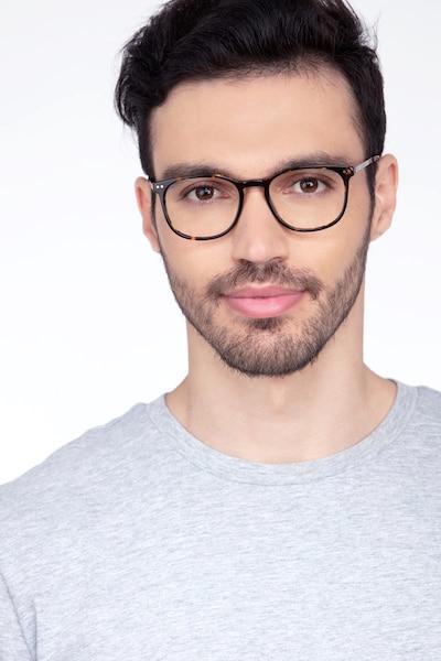 Savvy Écailles Acétate Montures de Lunettes pour Hommes d'EyeBuyDirect