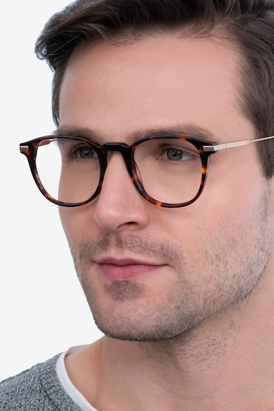 Giverny Tortoise Acetate-metal Eyeglass Frames for Men from EyeBuyDirect