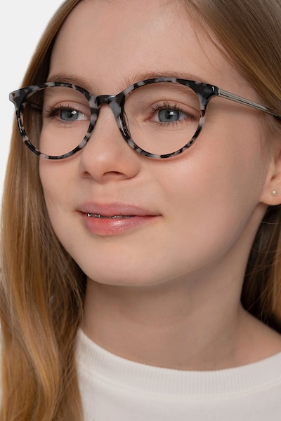 Solver Ivory Tortoise Acetate Eyeglass Frames for Women from EyeBuyDirect