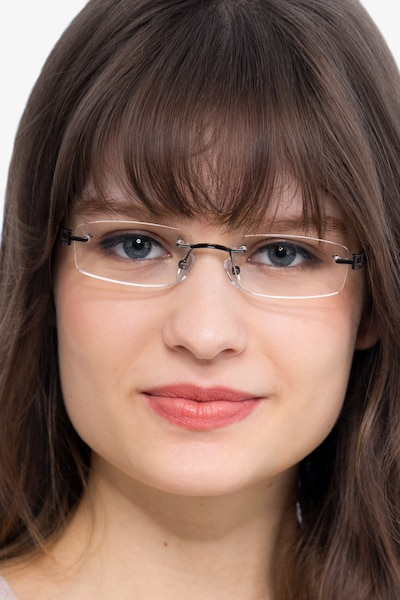 Ottawa Brown Metal Eyeglass Frames for Women from EyeBuyDirect