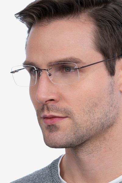 Forge Coffee Metal Eyeglass Frames for Men from EyeBuyDirect