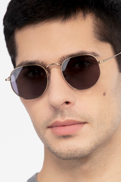 Boardwalk Copper Metal Sunglass Frames for Men from EyeBuyDirect
