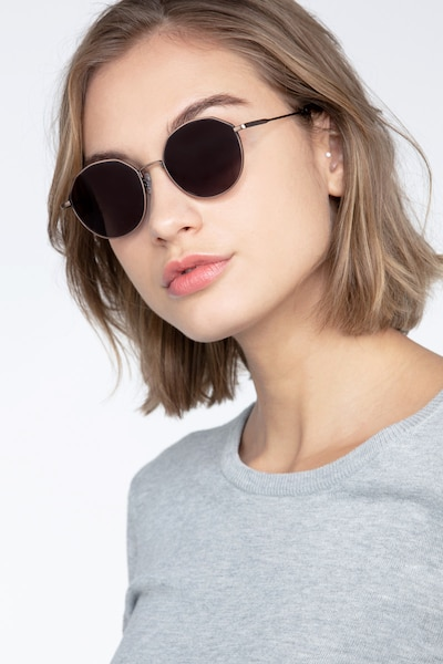 Village Bronze Metal Sunglass Frames for Women from EyeBuyDirect