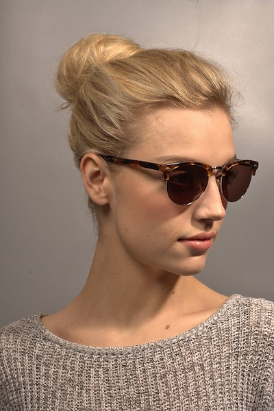 The Hamptons Golden Tortoise Acetate Sunglass Frames for Women from EyeBuyDirect
