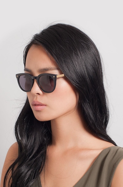 Zoe Navy Plastic Sunglass Frames for Women from EyeBuyDirect
