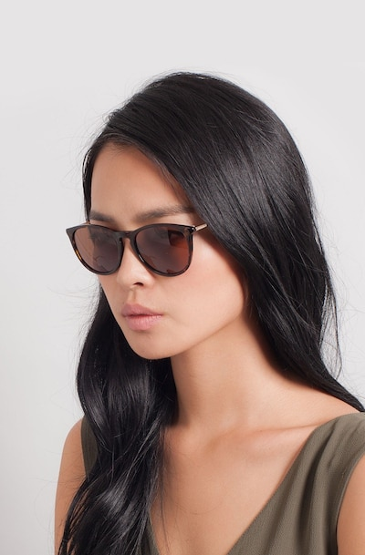Interlude Tortoise Acetate Sunglass Frames for Women from EyeBuyDirect