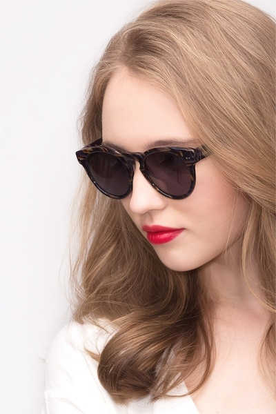 Penelope Floral Acetate Sunglass Frames for Women from EyeBuyDirect