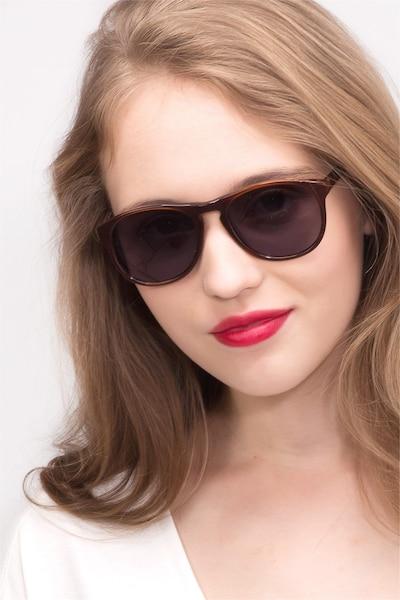 Silt Marron Acétate Soleil de Lunettes pour Femmes d'EyeBuyDirect