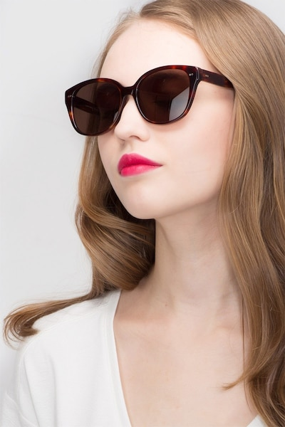 Lune Noire  Tortoise  Acetate Sunglass Frames for Women from EyeBuyDirect
