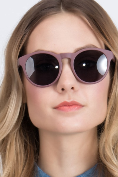 Taylor Marsala Plastic Sunglass Frames for Women from EyeBuyDirect