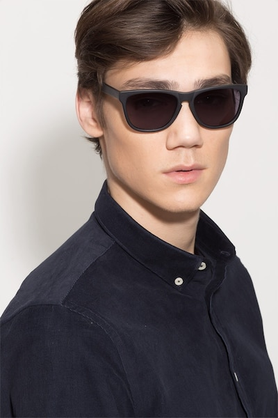 Matte Black Malibu -  Acetate Sunglasses