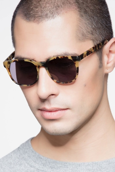 Tempest Tortoise Acetate Sunglass Frames for Men from EyeBuyDirect