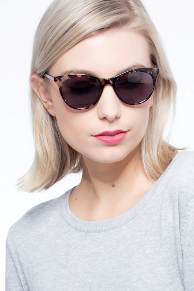 Cartel Tortoise Plastic Sunglass Frames for Women from EyeBuyDirect