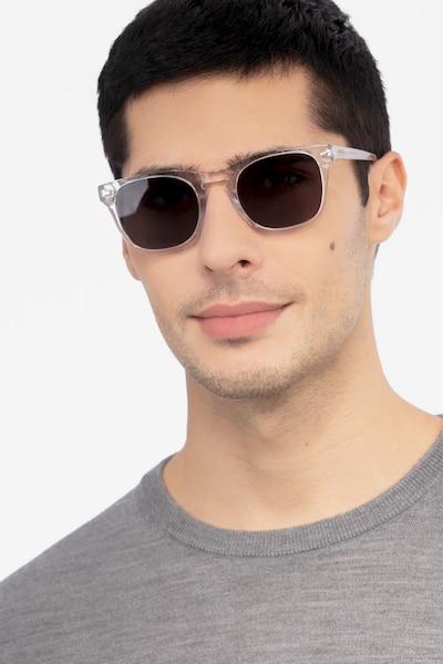 Daikon Transparent Acétate Soleil de Lunettes pour Hommes d'EyeBuyDirect