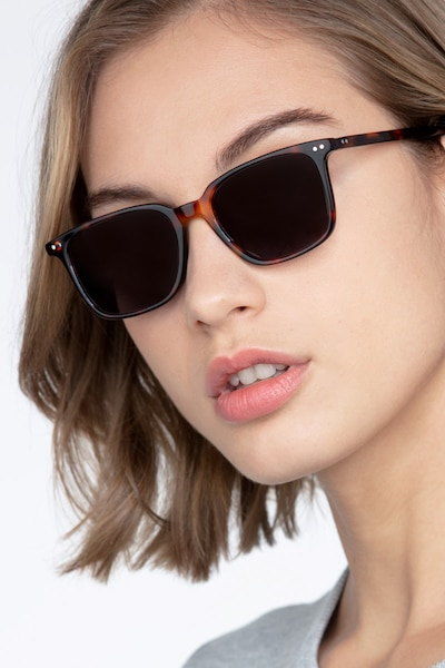 Luck Tortoise Acetate Sunglass Frames for Women from EyeBuyDirect