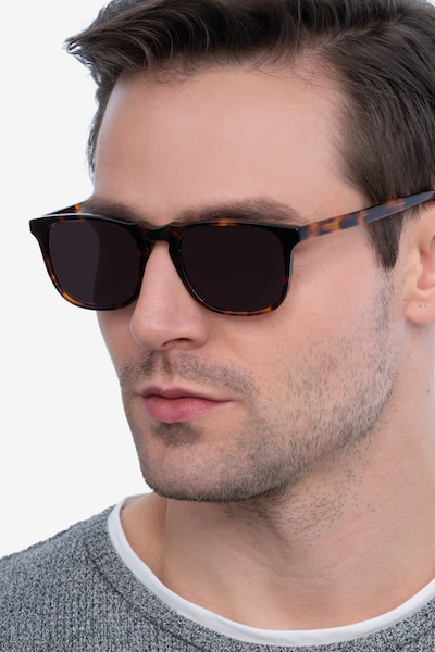 Wave Tortoise Acetate Sunglass Frames for Men from EyeBuyDirect