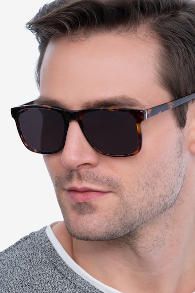 Kudos Tortoise Acetate Sunglass Frames for Men from EyeBuyDirect