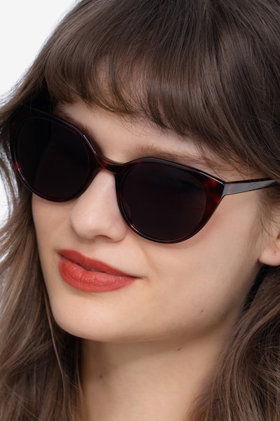 Sun Rhyme Tortoise Acetate Sunglass Frames for Women from EyeBuyDirect