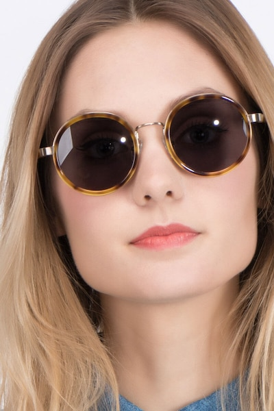 Bounce Tortoise Acetate Sunglass Frames for Women from EyeBuyDirect