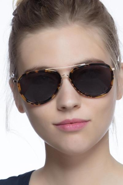Duke Tortoise Acetate Sunglass Frames for Women from EyeBuyDirect