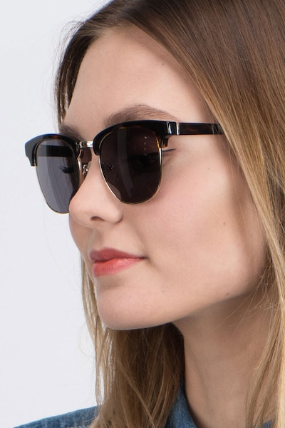 Somebody New Tortoise Acetate Sunglass Frames for Women from EyeBuyDirect