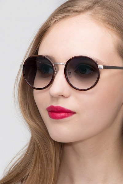 Lady Bird Tortoise Acetate Sunglass Frames for Women from EyeBuyDirect