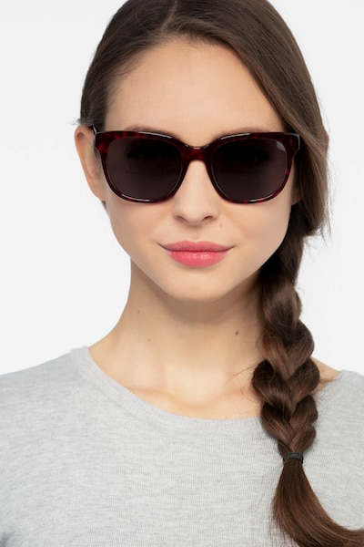 Circuit Purple Tortoise Acetate Sunglass Frames for Women from EyeBuyDirect