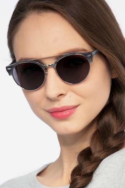 Sands Tortoise Acetate-metal Sunglass Frames for Women from EyeBuyDirect