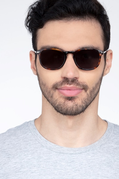 Council Tortoise Acetate Sunglass Frames for Men from EyeBuyDirect