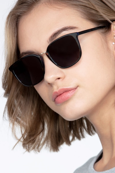 Yuma Tortoise Acetate Sunglass Frames for Women from EyeBuyDirect