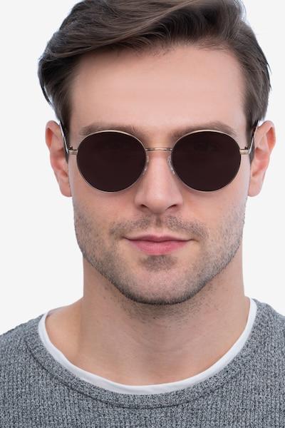 Grasp Bronze Acetate Sunglass Frames for Men from EyeBuyDirect